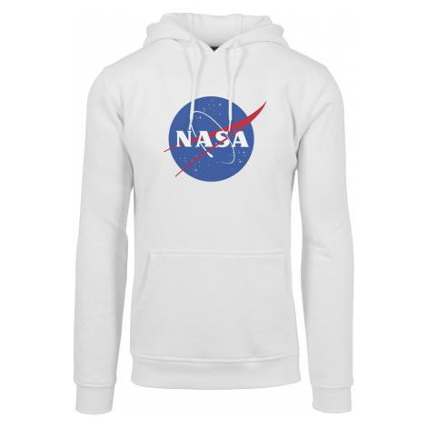 Mister Tee Mikina 'NASA'  biela / kráľovská modrá / svetločervená