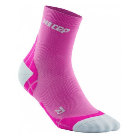 Dámske Bežecké Ponožky Cep Ultralight Ružové