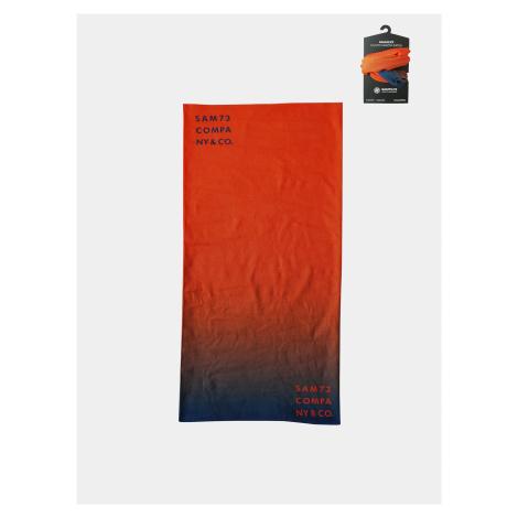 Oranžová multifunkčná šatka SAM 73