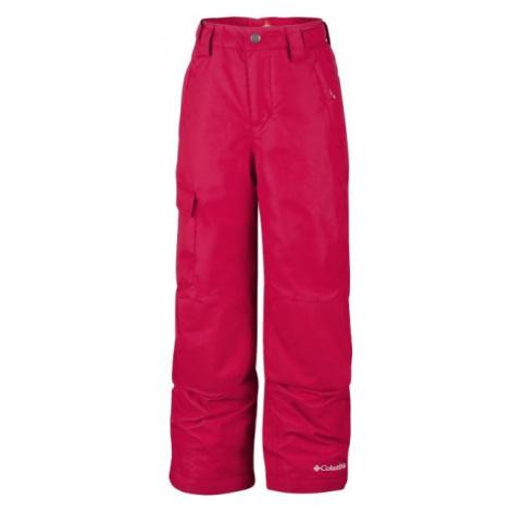 Columbia BUGABOO II PANT červená - Detské zimné nohavice
