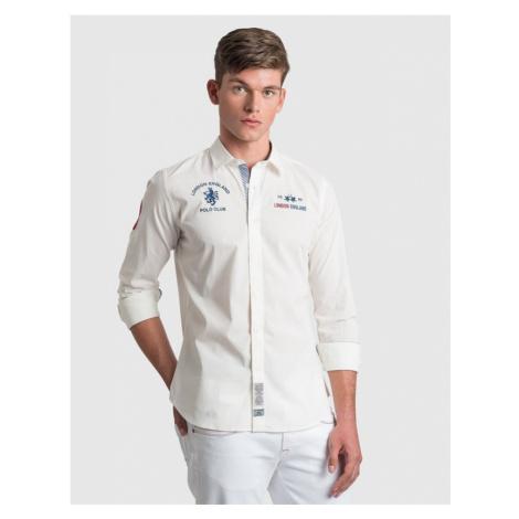 Košeľa La Martina Man Shirt L/S Poplin Stretch