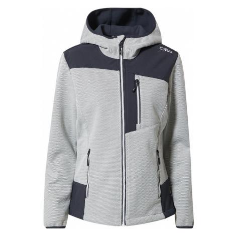 CMP Športová bunda  sivá / námornícka modrá