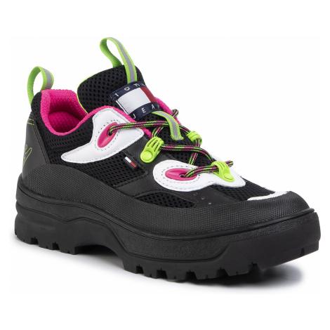 Sneakersy TOMMY JEANS - Expedition Shoe EN0EN00713 Black BDS Tommy Hilfiger