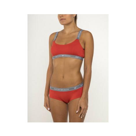 Emporio Armani Underwear Brazílske nohavičky 163225 9A317 12962 Oranžová