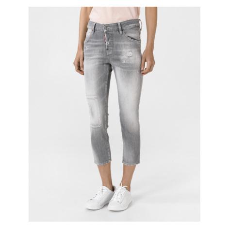 DSQUARED2 Cool Girl Jeans Šedá Dsquared²