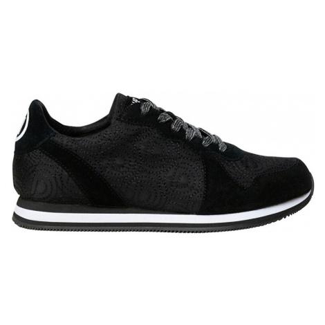 Desigual Dámske tenisky Shoes Pegaso Negro 20SSKA08