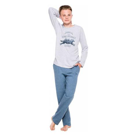 Chlapčenské pyžamo Kája šedé Taro