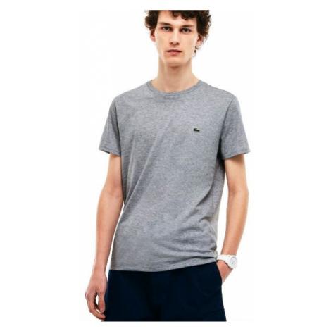 Lacoste MAN T-SHIRT šedá - Pánske tričko