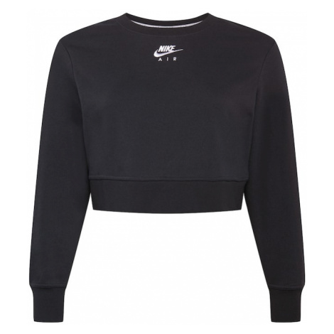 Nike Sportswear Mikina  čierna / biela