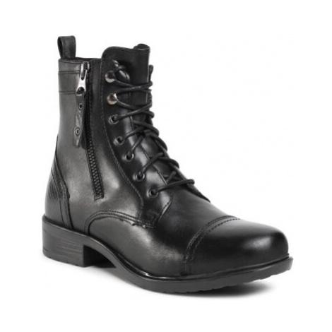 Šnurovacia obuv Lasocki ARC-NIKOLA-03 Prírodná koža(useň) - Lícova