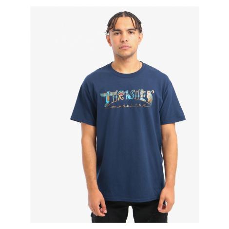 Pánske tričko Thrasher Hieroglyphic S/S navy Farba: Modrá