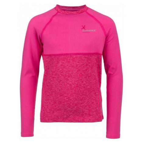 Klimatex WILLY svetlo ružová - Detské funkčné tričko