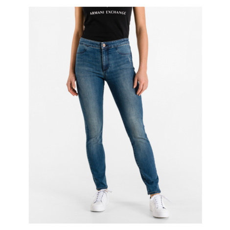 Armani Exchange Jeans Modrá
