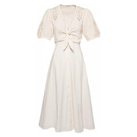 sessun Letné šaty 'MAHAVIRA'  biela ako vlna Sessùn