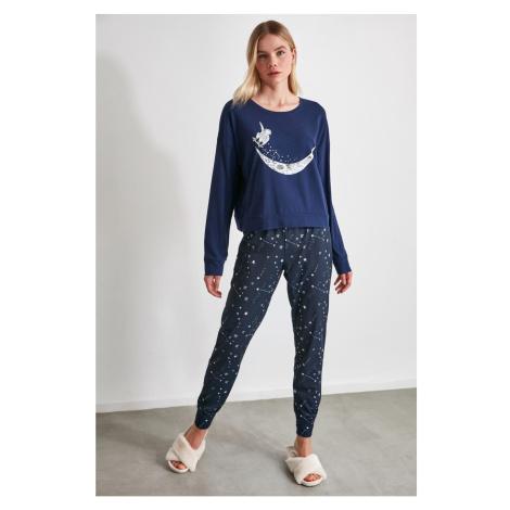 Dámske pyžamo Trendyol Printed