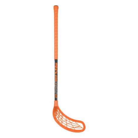 Kensis 4KIDS oranžová - Florbalová hokejka