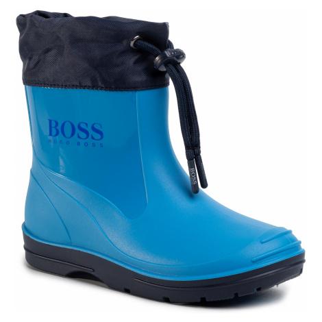 Gumáky BOSS - J09132 D Turquoise 760 Hugo Boss