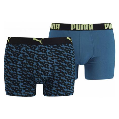 Puma LOGO AOP BOXER 2P - Pánske boxerky
