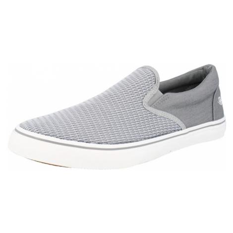 Dockers by Gerli Slip-on obuv  sivá / sivá melírovaná