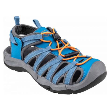 ALPINE PRO MERTO modrá - Detská letná obuv
