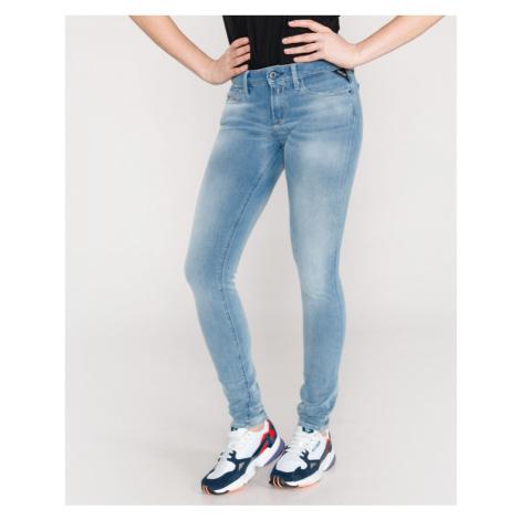 Replay Luz Jeans Modrá