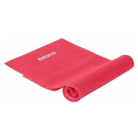 Fitforce EXEBAND 250x0,035 ružová - Guma na cvičenie