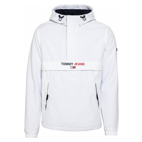 Tommy Jeans Prechodná bunda  biela Tommy Hilfiger