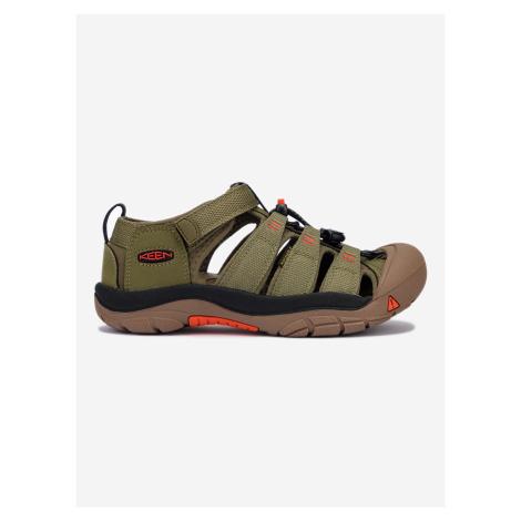 Newport H2 Sandále dětské Keen Zelená