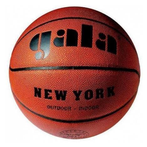 Míč basket NEW YORK 6021S - hnědá