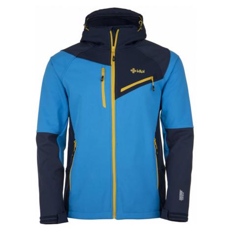 Men's softshell jacket Zenith-m blue - Kilpi
