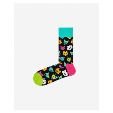 Happy Socks Funny Cat Ponožky Čierna Viacfarebná