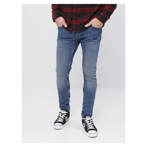 ONLY & SONS modré pánske džínsy Warp skinny fit