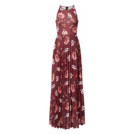ABOUT YOU Letné šaty 'Jenny'  zmiešané farby / bordová
