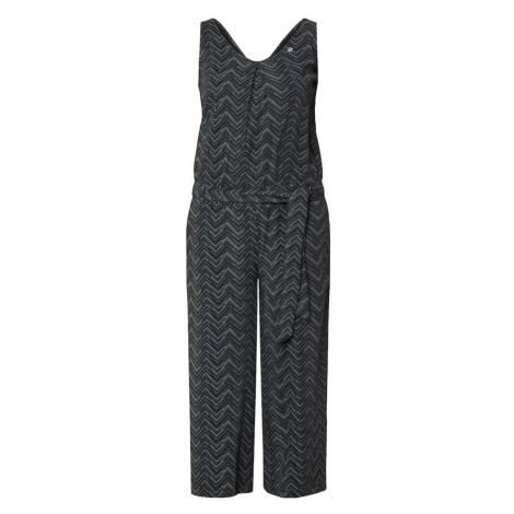 Ragwear Overal 'SUKY ZIG ZAG'  čierna / zmiešané farby
