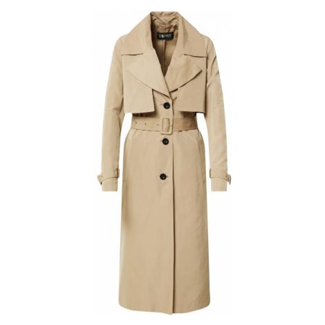 Esprit Collection Prechodný kabát  piesková