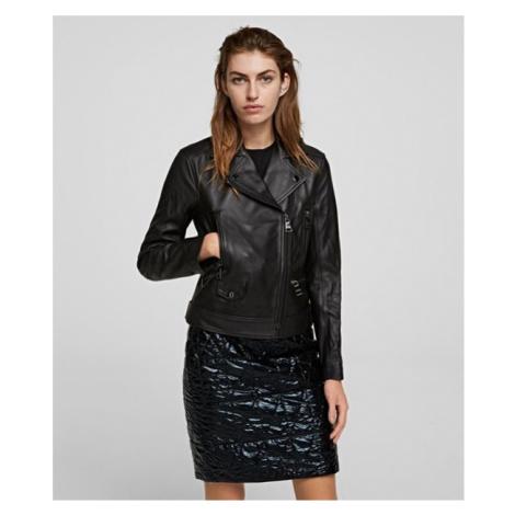 Bunda Karl Lagerfeld Ikonik Rs Leather Biker Jacket