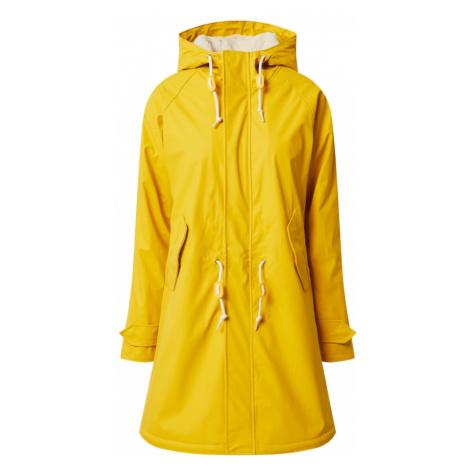 Derbe Prechodná bunda 'Travel Cozy Friese RC'  žltá