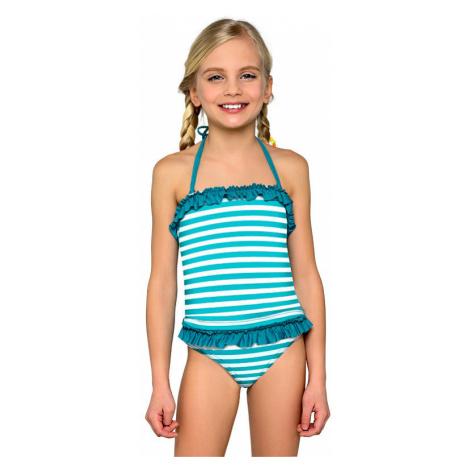 Dievčenské tankiny Natálka modré prúžky Lorin