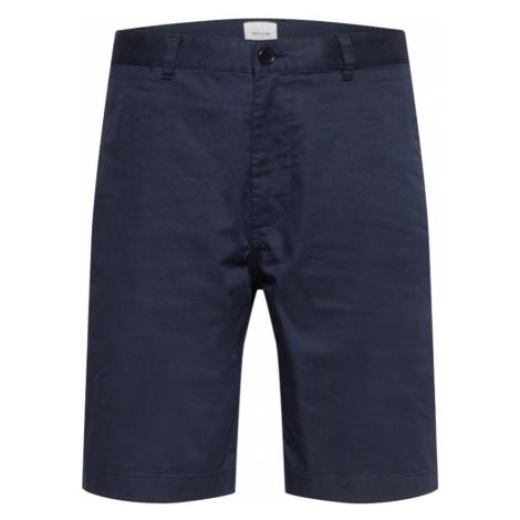 WOOD WOOD Chino nohavice 'Jonathan'  námornícka modrá