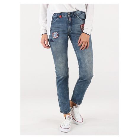 Džínsy Replay SB9185 Trousers Modrá