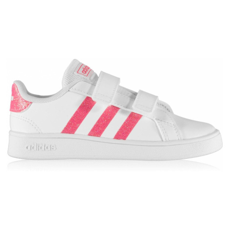 adidas Grand Court Trainers Infant Girls