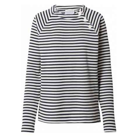 CRAGHOPPERS Športový sveter 'Neela'  námornícka modrá / biela