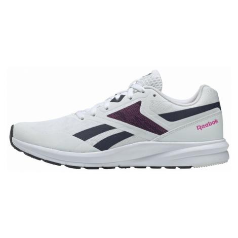 REEBOK Bežecká obuv 'Runner 4.0'  biela / tmavomodrá / ružová