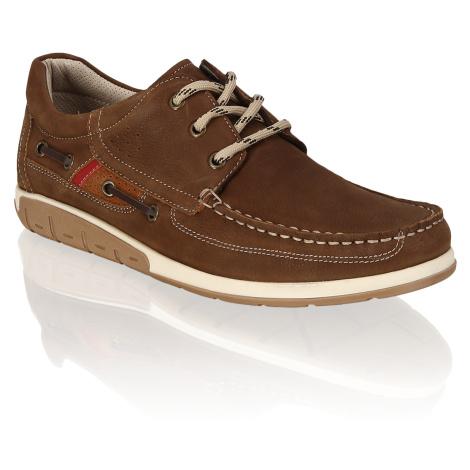 Frank Walker nubuk Športová šnurovacia obuv hnedá