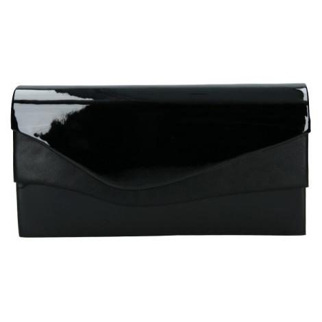 Elegantní listová kabelka Nicolet - čierná Delami