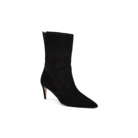 Red Valentino Členková obuv UQ2S0D97 Čierna