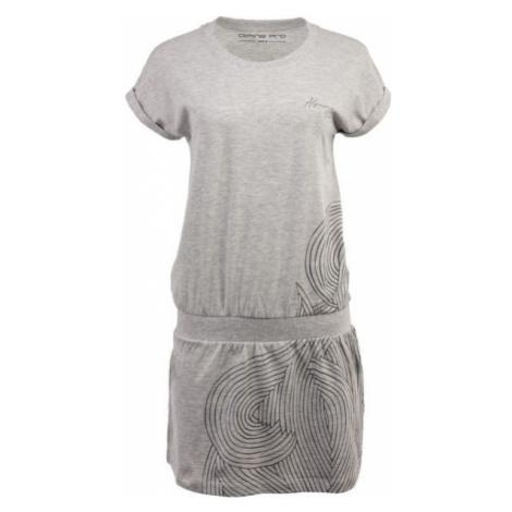 ALPINE PRO ARTURA 2 sivá - Dámske šaty