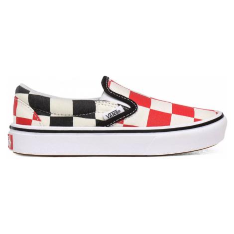 Vans Jn Comfycush Slip-On (Big Checker) Red/Black Junior-4 farebné VN0A4UUBXWD-4