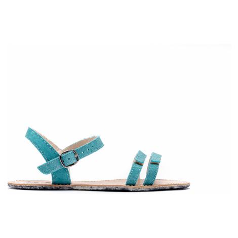 Barefoot sandále Be Lenka Summer - Tyrkys 36