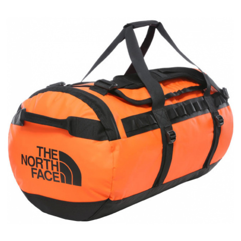 The North Face Base Camp Duffel - M Persian Orange/Tnf Black-One size oranžové NF0A3ETP3LZ-One s